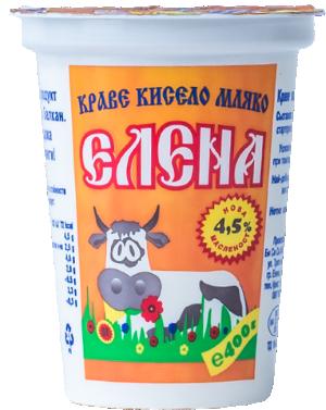 Кисело мляко Елена 4.5%