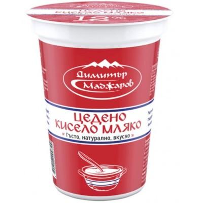 Кисело мляко цедено Маджаров
