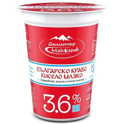 Кисело мляко Маджаров БДС 3.6%