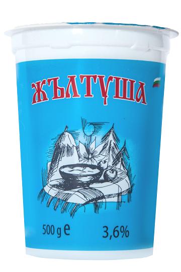 Кисело мляко Жълтуша 3.6%