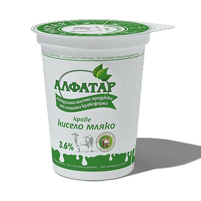 Кисело мляко Ферма Алфатар 3,6%
