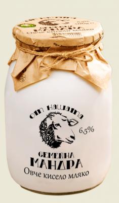 Овче Кисело мляко Млечна Планета 6,5%