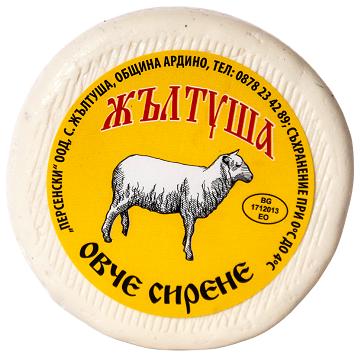 Овче сирене Жълтуша