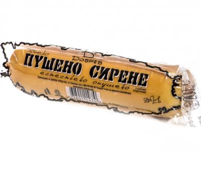 Пушено топено сирене Добрев