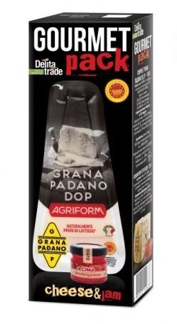 ГУРМЕ СЕТ Сирене Грана Падано + плодов конфитюр D.O.P. Agriform