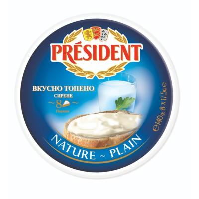 Топено сирене натурално PRÉSIDENT
