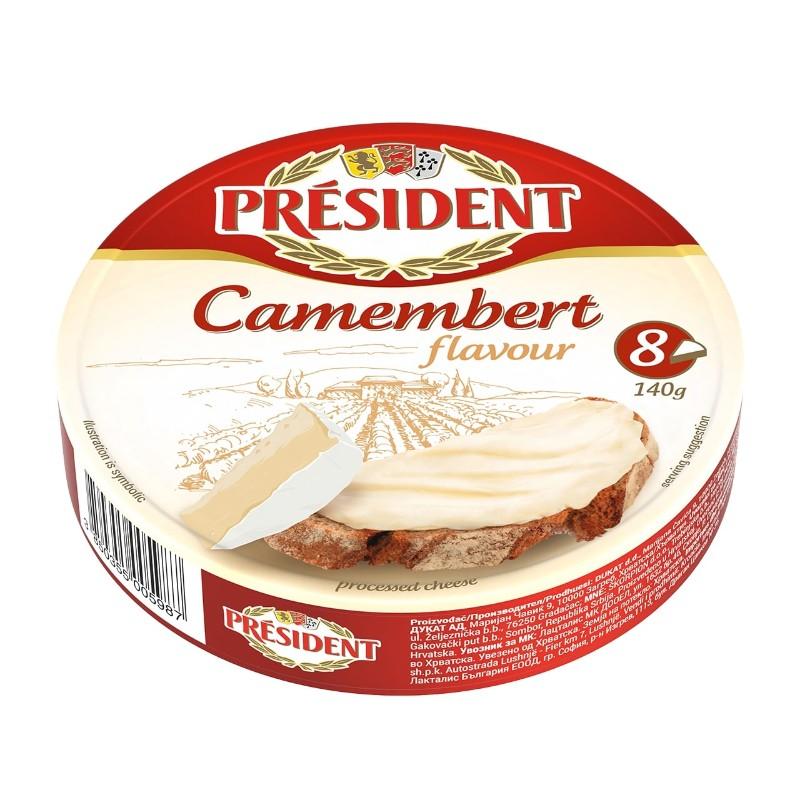 Топено сирене PRÉSIDENT Камембер