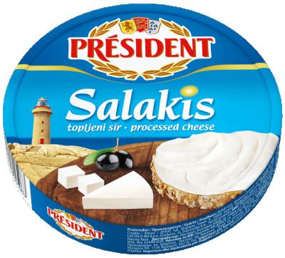 Топено сирене PRÉSIDENT Salakis