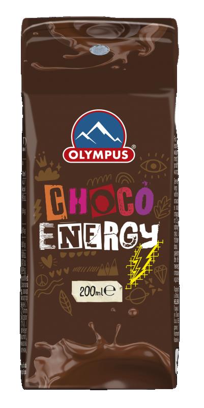 Млечна напитка Шоко Енерджи OLYMPUS