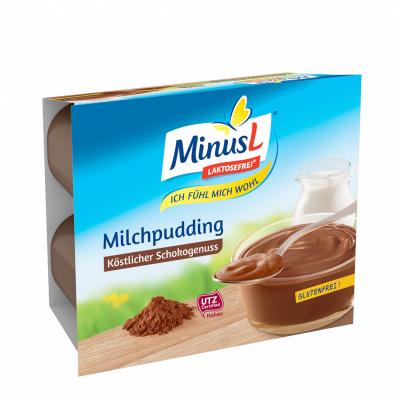 Пудинг без лактоза Шоколад MINUS L