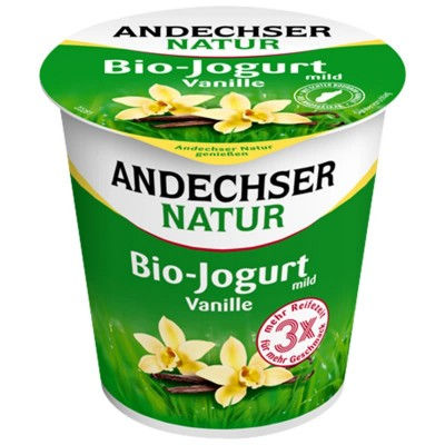 Био йогурт Ванилия 3.7% Andechser