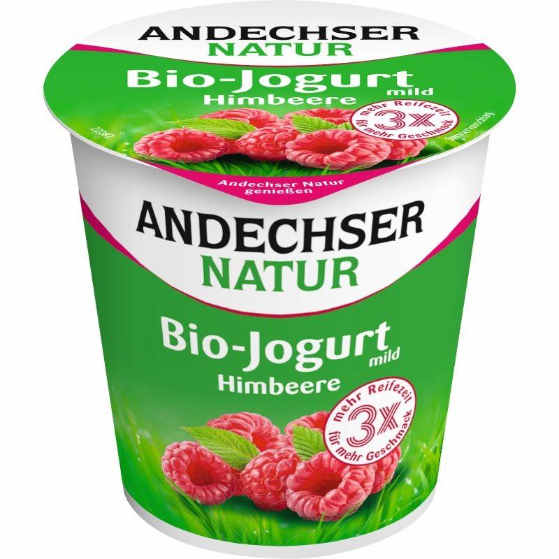 Био йогурт Малина 3.7% Andechser