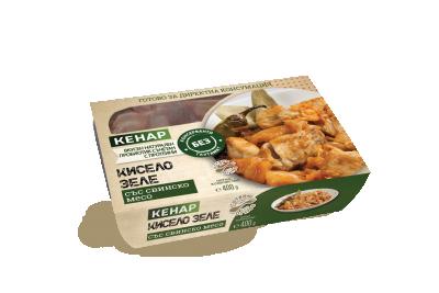 Кисело зеле Кенар със свинско месо