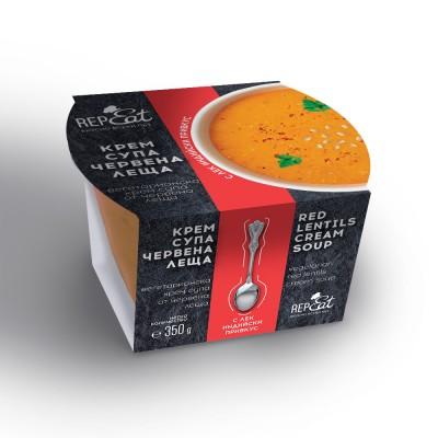 Крем супа RepEat червена леща