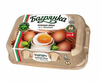 Яйца Багрянка, размер M