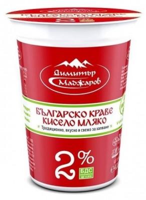 Кисело мляко Маджаров БДС 2%