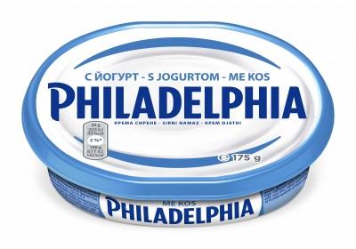 Крема сирене Philadelphia йогурт