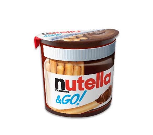 Хрупкави пръчици и шоколад Nutella & Go