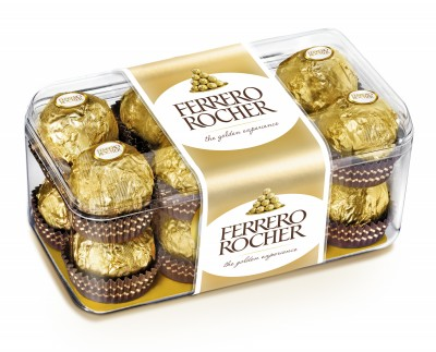 Шоколадови бонбони Ferrero Rocher
