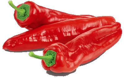 Червени чушки