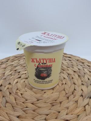 Кисело мляко Жълтуша 4% с каймак