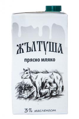 Прясно мляко Жълтуша 3%