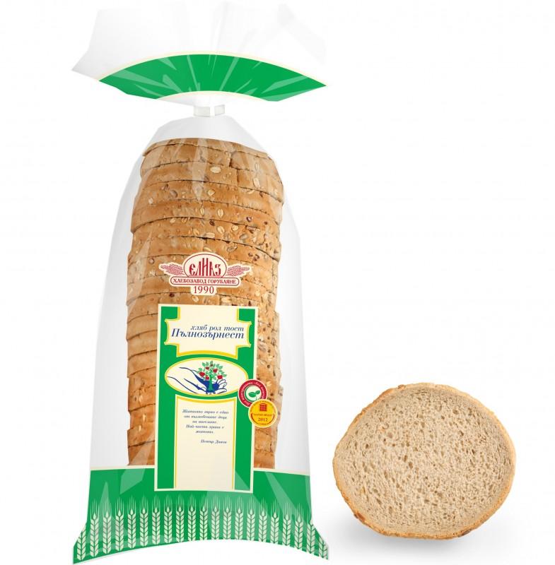 Хляб Елиаз Рол тост пълнозърнест