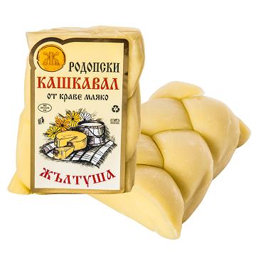 Кашкавал Жълтуша ръчен-плитка