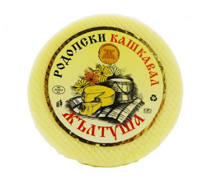 Кашкавал Жълтуша кръгла питка
