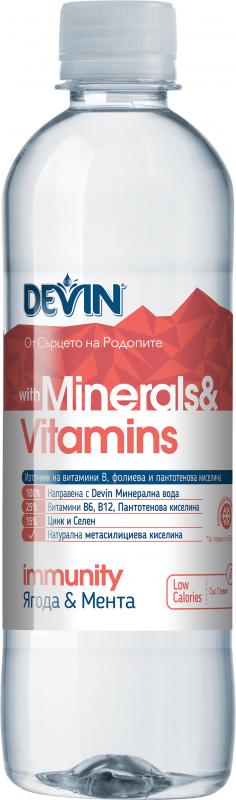 Девин Mineral & Vitamins Immunity Ягода и Мента