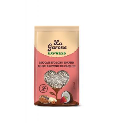 Мюсли ягодово брауни La Garone