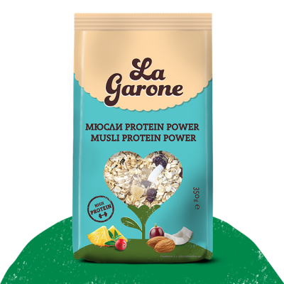 Мюсли Protein Power La Garone
