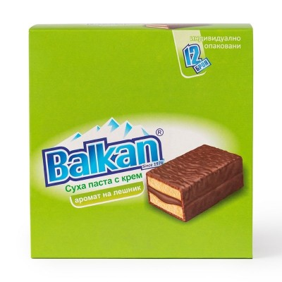 Суха паста Balkan лешник