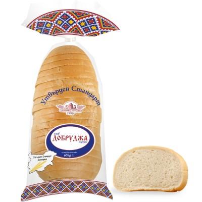 """Хляб Добруджа """"Утвърден Стандарт"""", нарязан"""