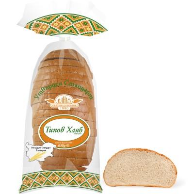 """Типов хляб """"Утвърден Стандарт"""", нарязан"""