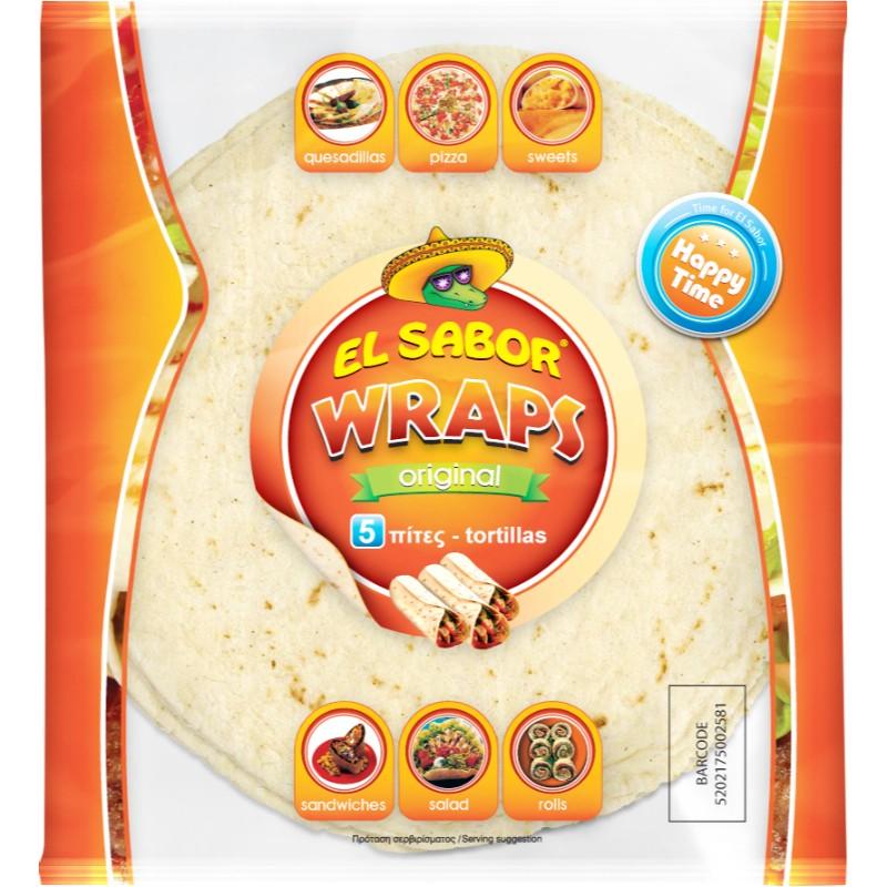 Тортила питка El Sabor 20 см