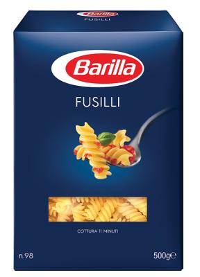 Паста Фузили Barilla спирали