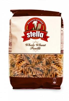 Пълнозърнеста паста фузили Stella