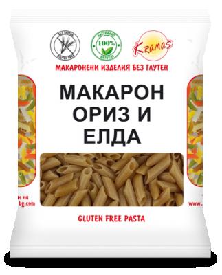 Макарони Kramas ориз и елда