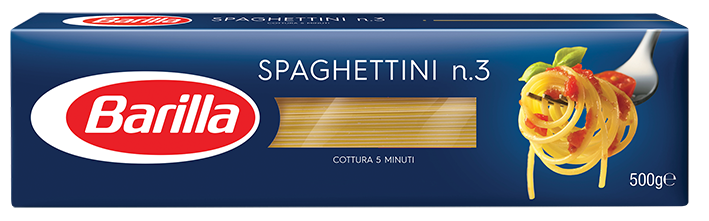 Спагетини №3 Barilla