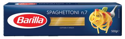 Спагетони №7 Barilla