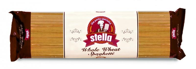 Пълнозърнести спагети Stella