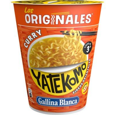 Нудълс с къри Gallina Blanca