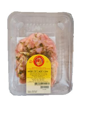Пилешки стек Доля с масло и билки