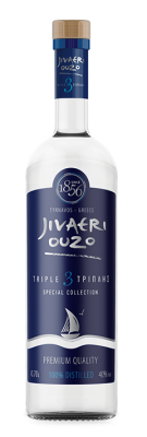 Узо Jivaeri тройна дестилация