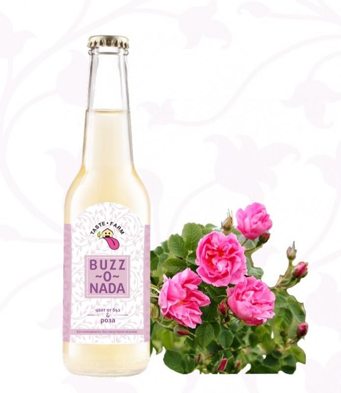 BUZZ-O-NADA цвят от бъз и рози