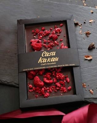 Занаятчийски, ръчен шоколад Casa Kakau малини