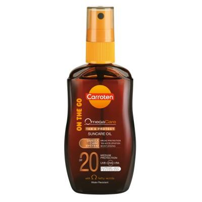 Слънцезащитно олио Carroten SPF20