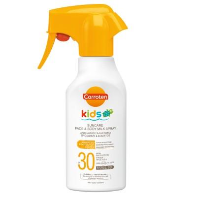Слънцезащитно мляко спрей Carroten Kids SPF30