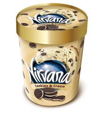 Сладолед Nirvana бисквити